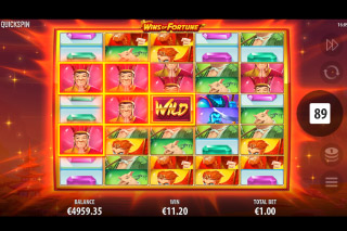 Wins Of Fortune Mobile Slot Expanded Reels