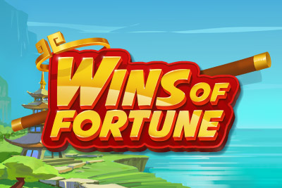Wins Of Fortune Mobile Slot Logo