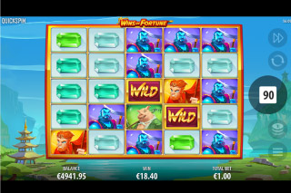Wins Of Fortune Mobile Slot Reels