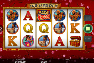 108 Heroes Mobile Slot Game