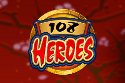 108 Heroes Mobile Slot Logo