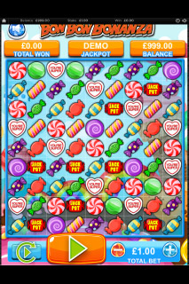 Bon Bon Bonanza Mobile Slot Game