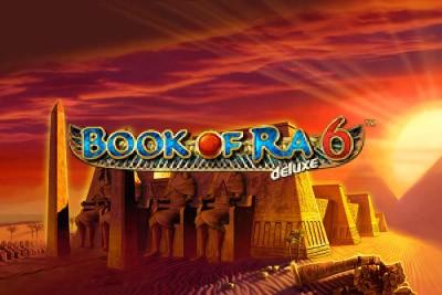 Book of Ra Deluxe 6 Mobile Slot Logo