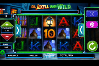 Dr Jekyll Goes Wild Mobile Slot Game