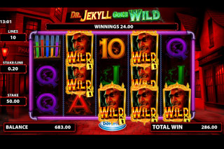 Dr Jekyll Goes Wild Mobile Slot Mr Hyde Free Spins