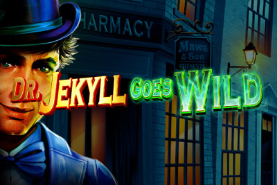 Dr Jekyll Goes Wild Mobile Slot Logo