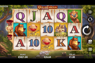 Goldilocks And The Wild Bears Mobile Slot Machine