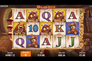 Goldilocks And The Wild Bears Slot Free Spins