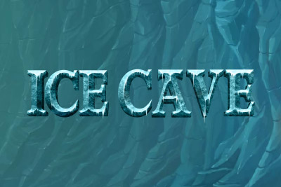 Ice Cave Slot Mobile Slot Logo