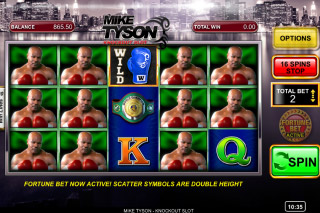 Mike Tyson Knockout Mobile Slot Bonus Big Win