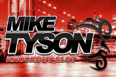 Mike Tyson Knockout Mobile Slot Logo