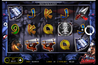 Ming Warrior Mobile Slot Game