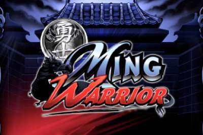 Ming Warrior Mobile Slot Logo