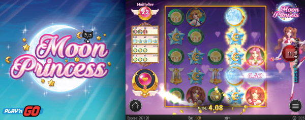 Mobile Moon Princess Slot On iPad