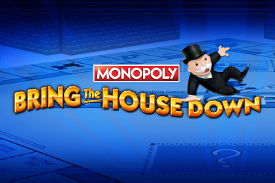 Monopoly Bring The House Down Mobile Slot Logo
