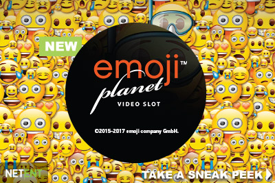 New NetEnt Emoji Planet Touch Slot Coming August 2017