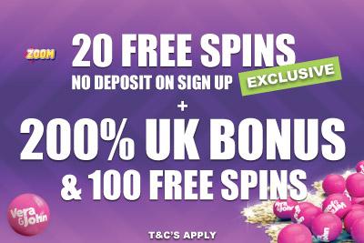 Get Your Free UK Casino Bonus + 200% + 100 Free Spins