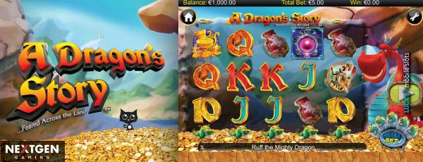 A dragons story nextgen gaming slot game wins play king