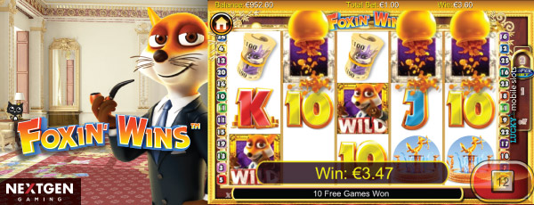 NextGen Foxin Wins iPad Slot