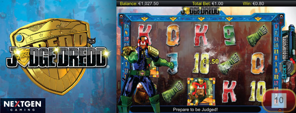 Nextgen Judge Dredd Slot for iPad, Phone & Tablet
