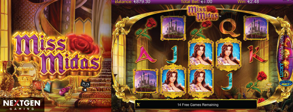 Mobile Miss Midas Slot With Wilds
