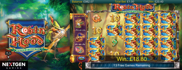 Robin Hood Prince of Tweet Slot With Even More Wilds