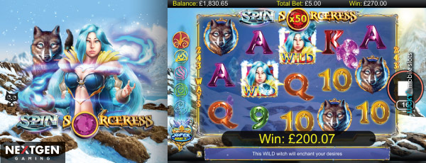 Spin Sorceress Slot With Multipliers