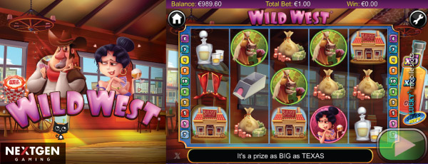 Wild West Mobile Video Slot With Free Spins & Multipliers