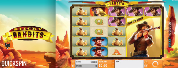 Sticky Bandits Slot Game In All Its Glory