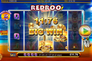 Red Roo Mobile Slot Bonus Game Win