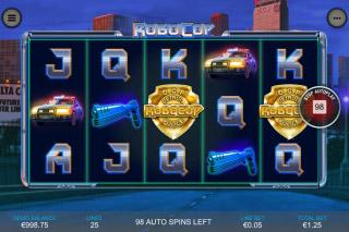 Robocop Mobile Slot Machine