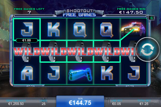 Robocop Mobile Slot Free Spins Win