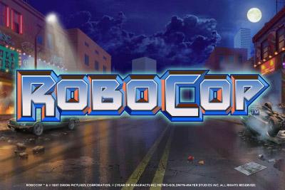 Robocop Mobile Slot Logo