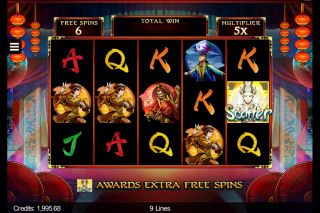 Six Acrobats Mobile Slot Free Spins