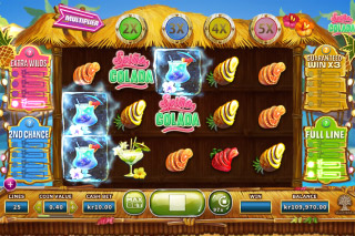 Spina Colada Mobile Slot Game