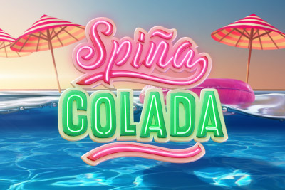 Spina Colada Mobile Slot Logo