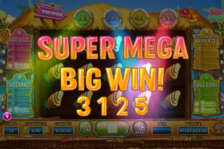 Spina Colada Mobile Slot Super Mega Big Win