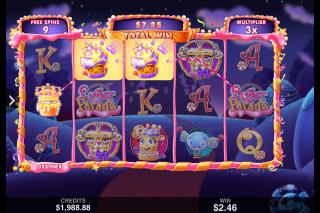 Sugar Parade Mobile Slot Free Spins Bonus