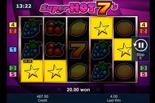Super Hot 7s Mobile Slot Game