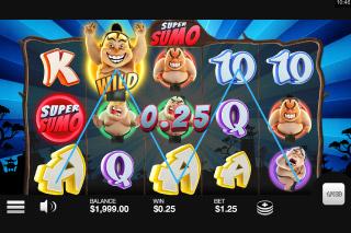 Super Sumo Mobile Slot Game