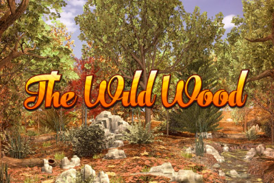 The Wild Wood Mobile Slot Logo