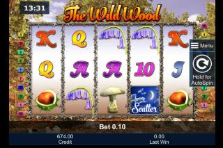 The Wild Wood Mobile Slot Machine