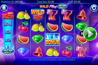 Wild Play Superbet Mobile Slot Machine