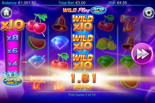 Wild Play Superbet Mobile Slot Free Spins