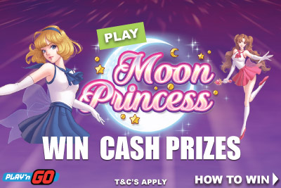 Win Cash Playing On The New Moon Princess Slot Game