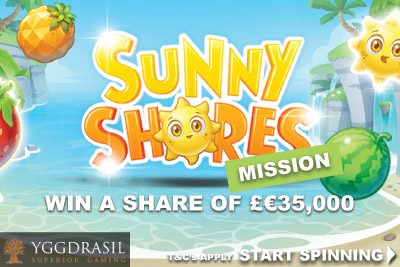 Win Real Money In The Yggdrasil Sunny Shores Slot Mission