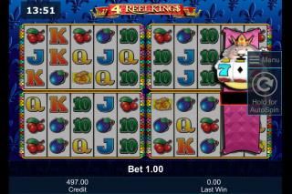 4 Reel Kings Mobile Slot Machines