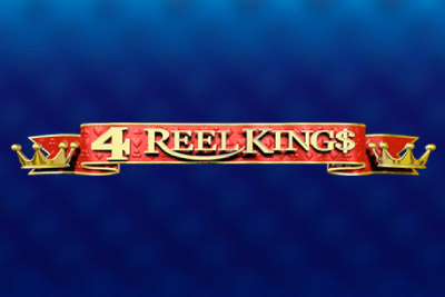 4 Reel Kings Mobile Slot Logo