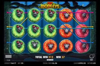 7 Monkeys Mobile Slot Free Spins Bonus