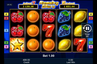 Amazing Stars Mobile Slot Machine